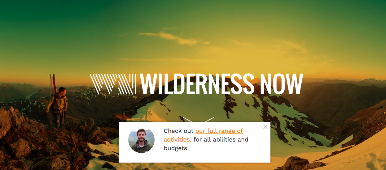 Startup of the Week - Wilderness Now