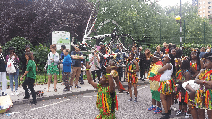 A Cultural event just outside London Fields