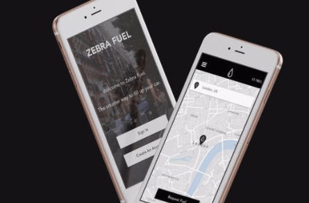 Zebra Fuel offers a fuel station in your pocket