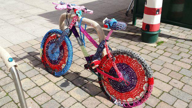 A cyclist got a new Bike Makeover