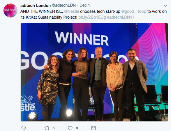 ad:tech London twitter - Good Loop winners