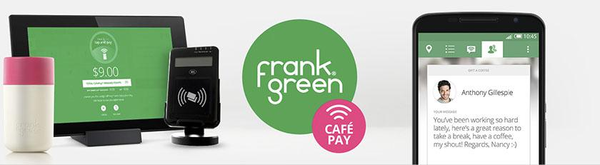 Cafepay Frank Green