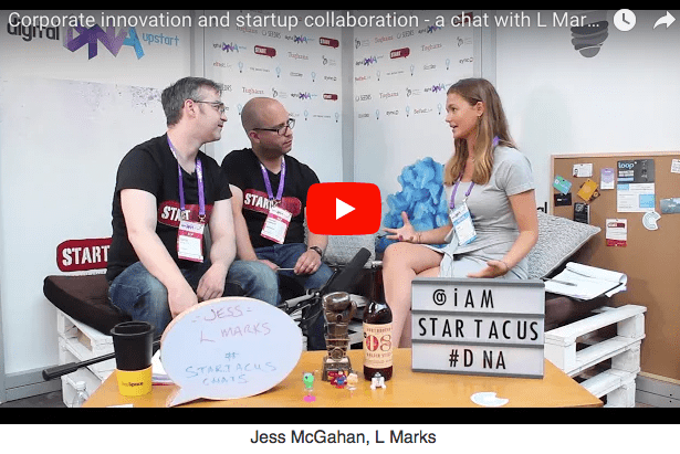 L Marks - corporate innovation and startup collaboration discussed