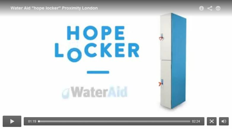 WaterAid Hope Locker