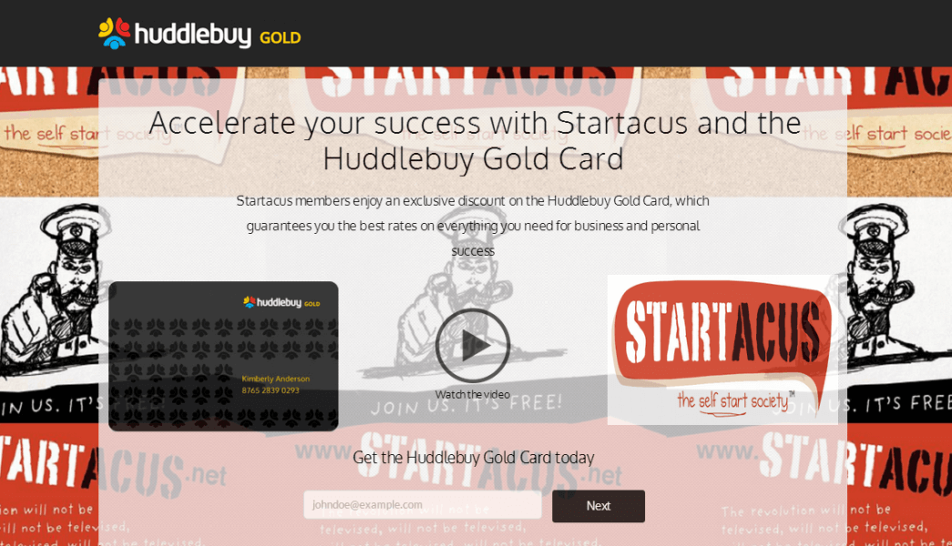 huddlebuy gold card