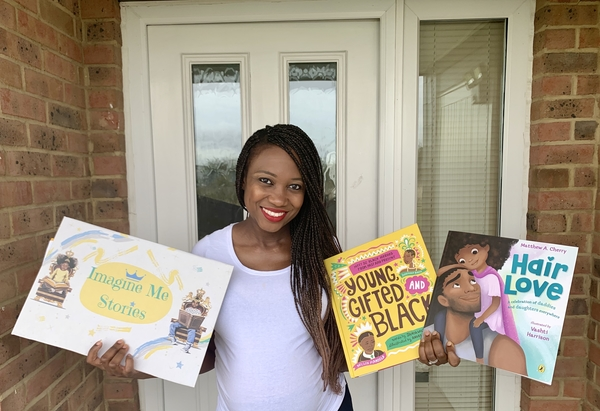 Imagine me Stories empowering black children with books and activities