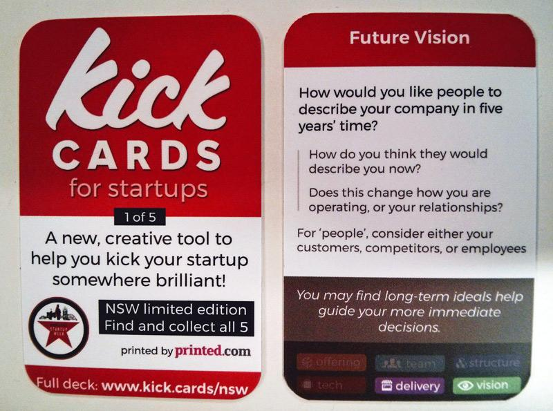 Kick Cards for Startups Want to Stack the Deck in your Favour