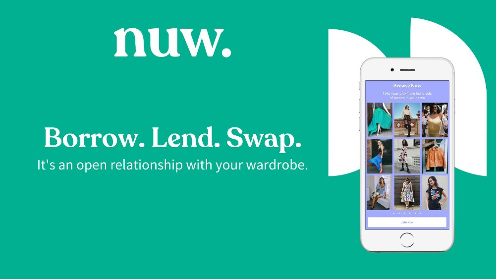Nuw - the sustainable fashion app expands throughout UK and Ireland
