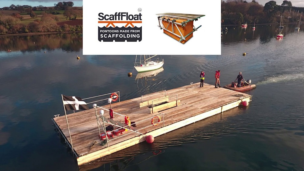 ScaffFloat - innovative floating access solutions