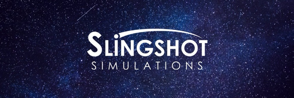 slingshot simulations screen.