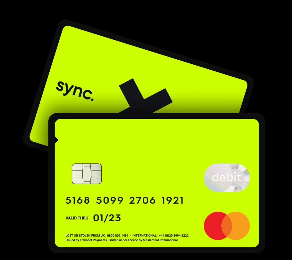 sync. card email