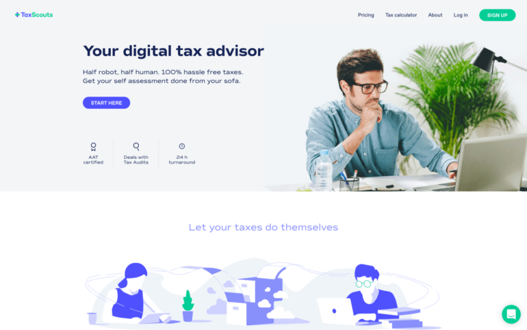 Startup of the Week - TaxScouts