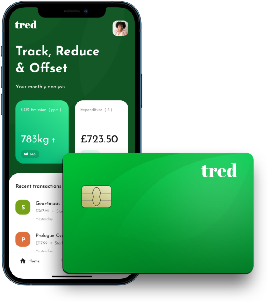 Tred - mobile banking to save the planet
