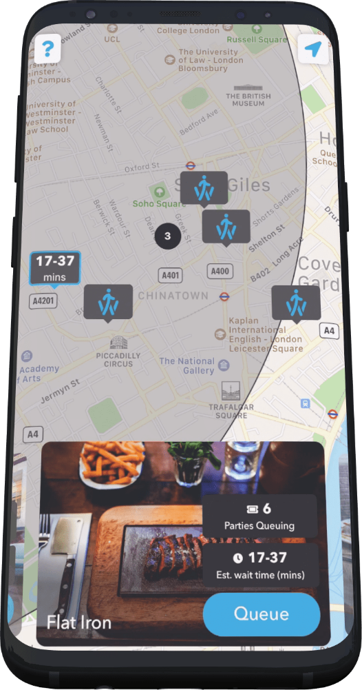 walkinapp screen