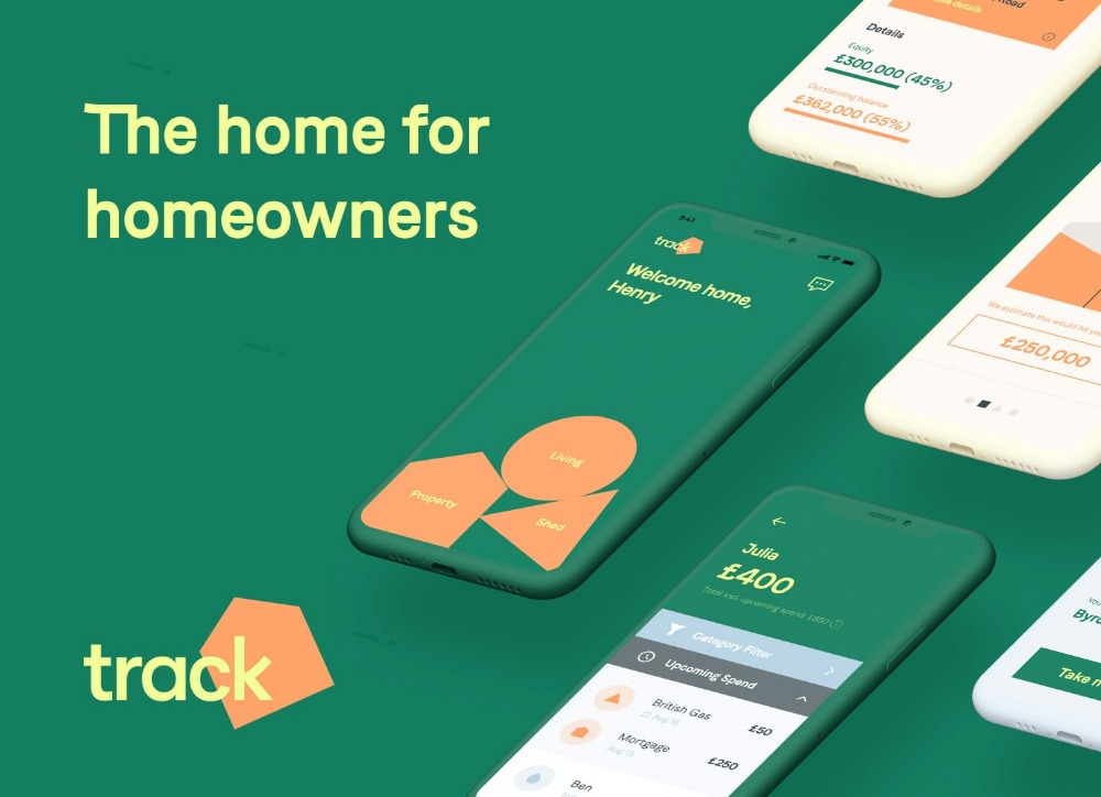 Track - the property and money manager app for younger homeowners