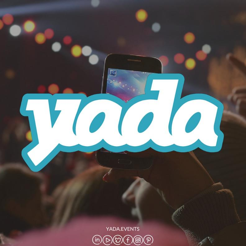 Startup Events App yada aims to create a 360-degree event experience